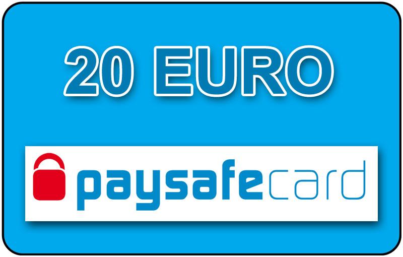 paysafecard 20 euro